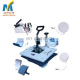 Wholesale 8 In 1 Multi-Functions Combo Heat Press Transfer Machine With One Year Warranty