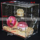 custom 2 layers acrylic luxury hamster cages for sale