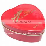 Nice heart tin box for Wedding,Valentine's day
