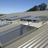 High Quality Facories Automatic Design Aluminum Roof Skylight window