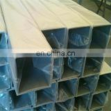 DIN BS ASTM 316L 321 Stainless Seamless Steel square Tube