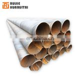 spiral welded 8 inch water pipe spiral tube manufacturers