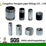 long thread black and galvanized carbon steel pipe nipples