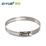 Stainless Steel Fixing Germany and American type hose clamp adjustable clamp Good quality factory direct sales