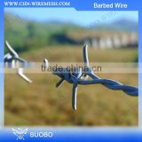 Low Carbon Steel Material Galvanized Barbed Wire Automatic Double Twist Barbed Wire Making Machine Hot Dipped Galvanized Barbed