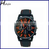 Sport Watch Military Pilot Aviator Army Watches Men Racer Watch Orange WP018