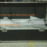 carrying case of advertising screen/Fast portable screen/with 3D silver screen fabric/rear screen fabric/front screen fabric