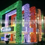 outdoor arched colorful PMMA optic fiber lighting , ceiling light , LED engine