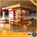 OEM/ODM beauty makeup mac cosmetic shop counter design images of store display