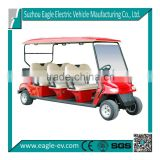 Very attractive prices electric golf car with 6 seats made by Eagle                                                                                                         Supplier's Choice