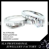 Chinese jewelry wholesale couples rings cheap jewelry wedding decoration gift jewelry display
