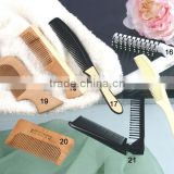 Manufacturers offer travel comb hotel comb with opp bag /cheap 100% cotton towels