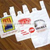 recycled non woven plastic shopping bags,plastic handle promotional shopping bag,recycled woven plastic shopping bags