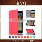 In stock portable case for kindle new fire hd10 2015, pu leather oem photos protective cover for amazon