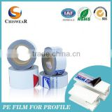 China Design Pack Wrap Stretch Plastic Blue Film For Sale