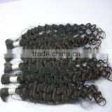 high quality and best indian hair extension curler human hair bulk made in china                                                                         Quality Choice