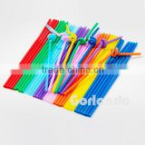 Factory custom-made cool colored plastic drinking straw                                                                         Quality Choice