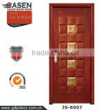 New arrival popular design antique chinese interior doors with strong 3D effect wooden door