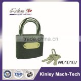 Plastic Plated Iron Padlock Manufacturer With Master Key