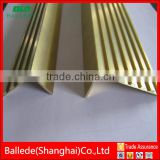 Custom Brass Stair Nosing Strip
