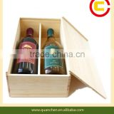 Bamboo Double Wine Bottle Box
