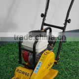 60kgs gasoline honda B&S robin diesel vibrating soil asphalt single direction forward vibratory plate compactor