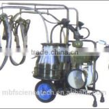 Removable Vacuum Pump Milking Machine, Model: 9J-I, milk 10-12 cows or goats per hour
