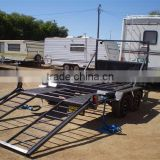 Small Folding Car Trailer Dolly by Kinlife with 34 years experience in metal fabrication