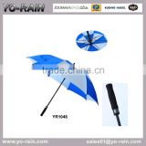 High quality air vented lexus golf umbrella & golf umbrella holder straight golf umbrella