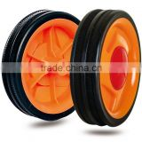4 inch plastic wheel for trolley, shopping cart, luggage