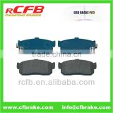car part auto brake pads for nissan 10NX,almera,atima,bluebird,maxima,primera,sunny,pulsar