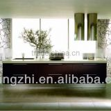 2013 Modern wall units /kitchen cabinet Foshan manufacturer high quality furniture lacquer mdf /oak veneer kitchen JZL-001V