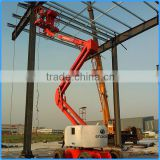 Cleaning equipment building glass articulated boom lift