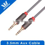 Gold 3.5mm Male to Male Car Aux Auxiliary Cord Stereo Audio Cable for Phone iPod headphone