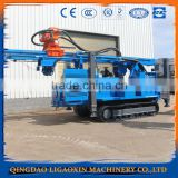 Hydraulic water well drilling machine with 500 m drilling hole machine.