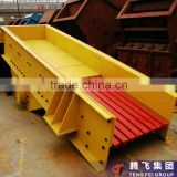 Continuously working durable mineral electromagnetic vibrating feeder