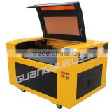 2015 star product high specification of GY6090 80W100W CO2 screen protector laser cutting machine