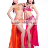 2014 top quality charming style SWEGAL sexy belly dance costume SGBDT14010