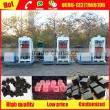 Professional hydraulic charcoal briquette press machine for cubic shisha charcoal for sale