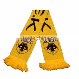 bob trading TRADEMARK OEM football fans Knitting scarf wool knitting scarf gloves hat suit