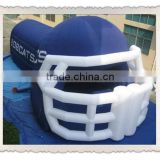 New Inflatable Helmet Tunnel/Blue Football Tunnel Inflatable Tent