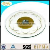 S1016 cheap tempered glass lazy susan for sale