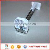 Huohua wholesale reliable multi-functional install with tapping screw anti-theft display hook