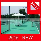 badminton court surface/basketball court flooring/volleyball playing court surface made in China