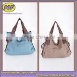 Custom Women Tote Fashion Messenger Canvas Travel Bag