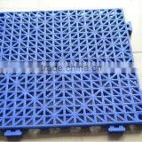 Swimming pool use interlocking floor tiles, Eco-friendly PVC interlocking drainage floor tiles