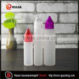E liquid 10ml 15ml 30ml 50ml 60ml ldpe unicorn pen plastic dropper bottles with childproof and tamper evident cap                                                                                                         Supplier's Choice