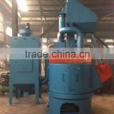 Q35 Rotary swing table grit blasting machine/equipments for foundry casting parts