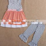 2016 new arrivle children clothing manufacturers china baby cotton frock suit design images