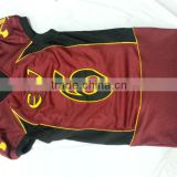 Compression fit Spandex Tackle Twill American Football Jereseys